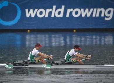 Ireland's Gary O'Donovan and Paul O'Donovan (file pic).