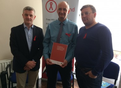 Dr. Patrick Mallon, Niall Mulligan and Noel Sutton