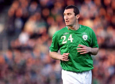 Byrne has scored 221 League of Ireland goals in addition to winning two Ireland caps.