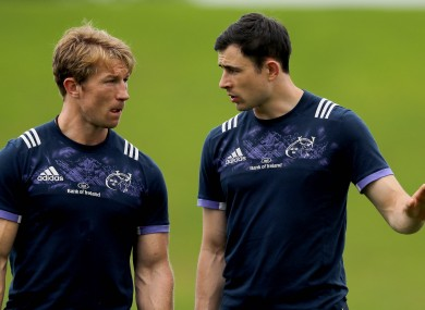 Flannery and Jones have committed their futures to Munster.