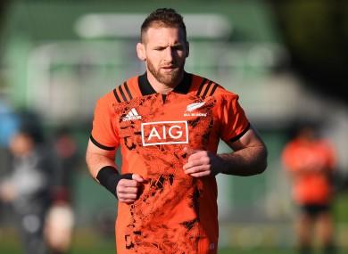 New Zealand captain Kieran Read.