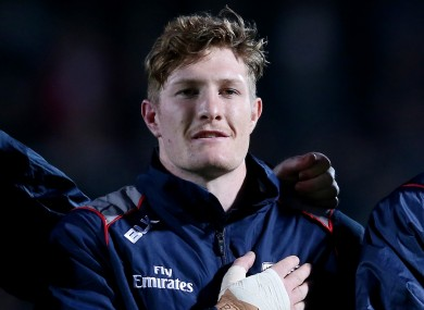 Corkman John Quill has been named to start in the back row for the USA against Ireland.