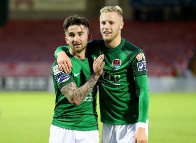 Sean Maguire (left) and Kevin O'Connor (right) both featured tonight (file pic).