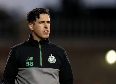 Shamrock Rovers manager Stephen Bradley.