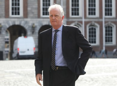 Mr Justice Peter Charleton is chairing the Disclosures Tribunal