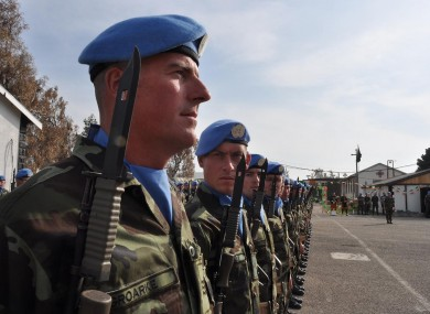 Fighting in recent weeks came so close to the UNDOF camp that Irish troops were forced to take cover inside.