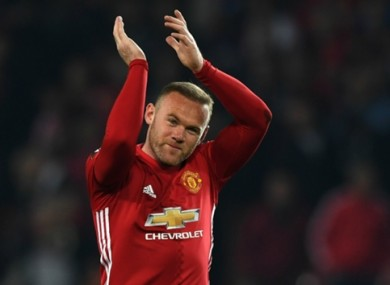 Wayne Rooney is set to join Everton.