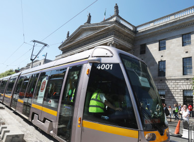 Luas Cross City will have more test runs over the summer.