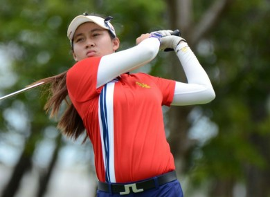 Atthaya Thitikul became the youngest winner on the Ladies European Tour at 14