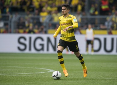 Dortmund's Marc Bartra has been linked with a move to Man United.