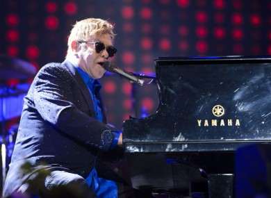 Elton John on 11 September 2016 in Hyde Park