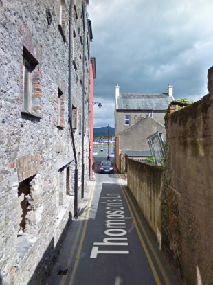The Thompson Lane area in Dungarvan town in Waterford.