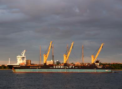 The dock ship