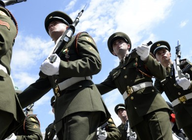 A new report has highlighted poor pay and conditions reported by Defence Forces personnel.