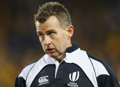 Referee Nigel Owens