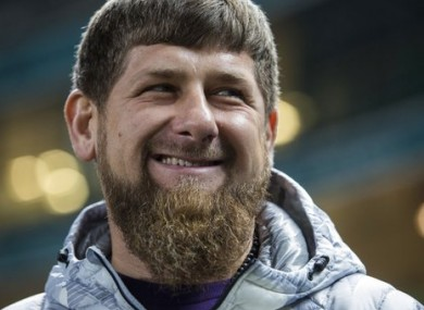 File photo of Ramzan Kadyrov.
