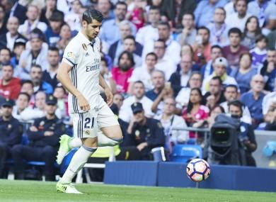 Alvaro Morata has at times struggled to break into a star-studded Real Madrid starting XI.