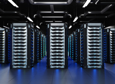 The data centre would hold information for Apple services like iMessage and Siri.
