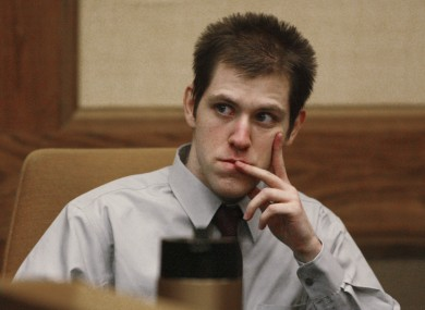 William Morva, pictured during his trial in 2007, is due to be executed tomorrow.