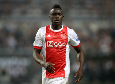 Ajax defender Davinson Sanchez.