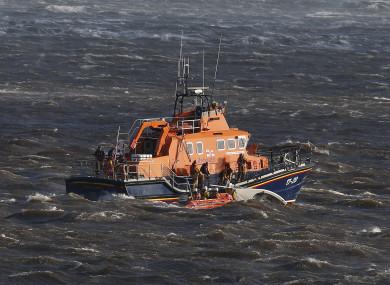 File photo. RNLI lifeboat