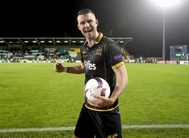 Kilduff was Dundalk's Europa League hero in the win over Maccabi Tel-Aviv last season.