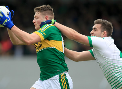 Conor Cox was the star of the show for Kerry.