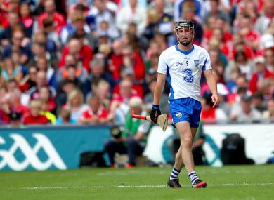 Gleeson: sent off against Cork.