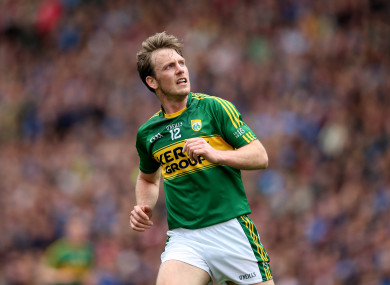 One change: Kerry's Donnchadh Walsh starts.