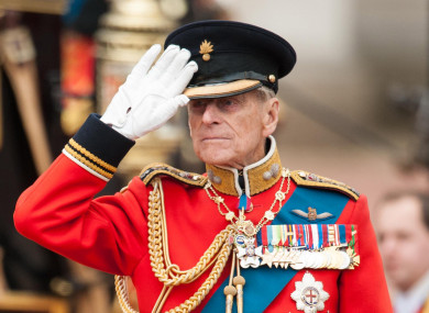 Prince Philip in June 2012.