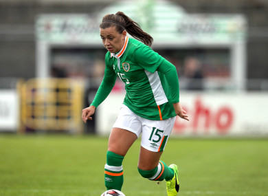 McCabe has won 13 caps since making her senior international debut in March 2015.