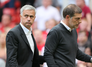 Mourinho's side have scored eight and conceded none in their opening two league fixtures.