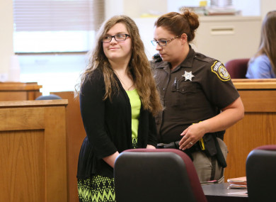 Anissa Weier is one of two teenagers charged with attempting to murder a classmate in 2014.