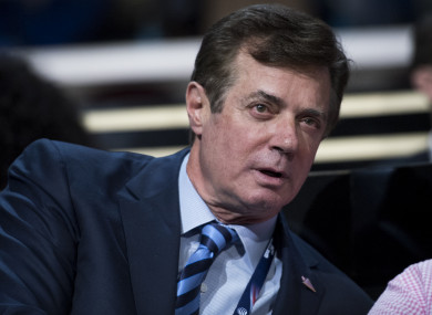 Washington lobbyist and Trump advisor Paul Manafort.