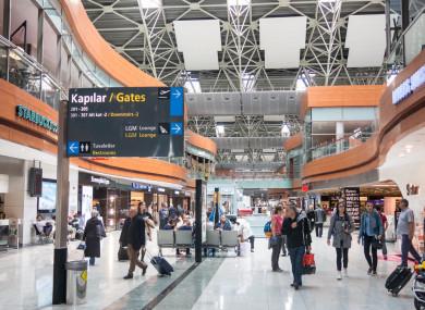 Departure Hall of Sabiha Gokcen International Airport