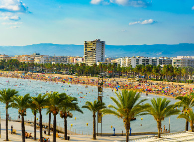 The resort of Salou.