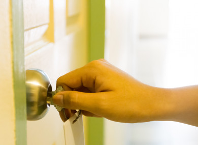One of the methods the scammers use is handing over keys that don't actually work