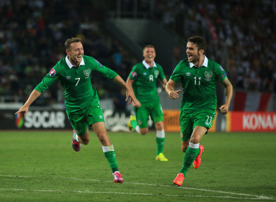 Aiden McGeady's best moments in a green jersey have arguably come against Georgia.