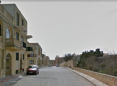Pictured is Triq Malta, the road where the incident occurred.