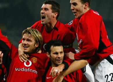 Giggs and Keane were part of a hugely successful Man United side.