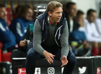 Julian Nagelsmann has impressed during his stint as Hoffenheim boss.