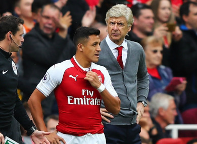 Wenger has defended his striker.