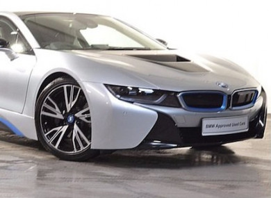 The BMW I Is The Worlds First Plugin Hybrid Supercar - A bmw i8