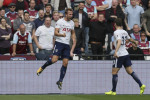 Harry Kane at the double to play derby hero again as Tottenham down Hammers