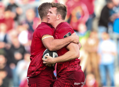 Munster's backline fired again on Saturday as they scored eight tries.