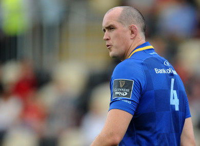Devin Toner will win his 200th Leinster cap on Friday.
