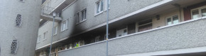 Fire which led to hospitalisation of woman and three children being treated as suspicious