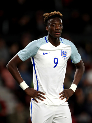 Tammy Abraham has been capped by England at underage level.