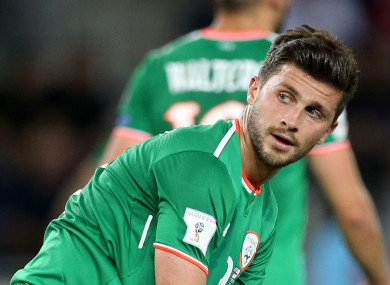 Republic of Ireland's Shane Long during the 2018 FIFA World Cup Qualifying, Group D match at the Boris Paichadze Stadium, Tbilisi.