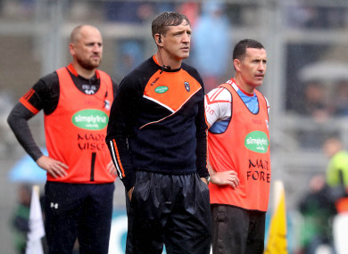 Kieran McGeeney will remain at the helm with the Orchard.